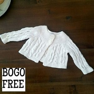 Baby gap sweater cardigan
